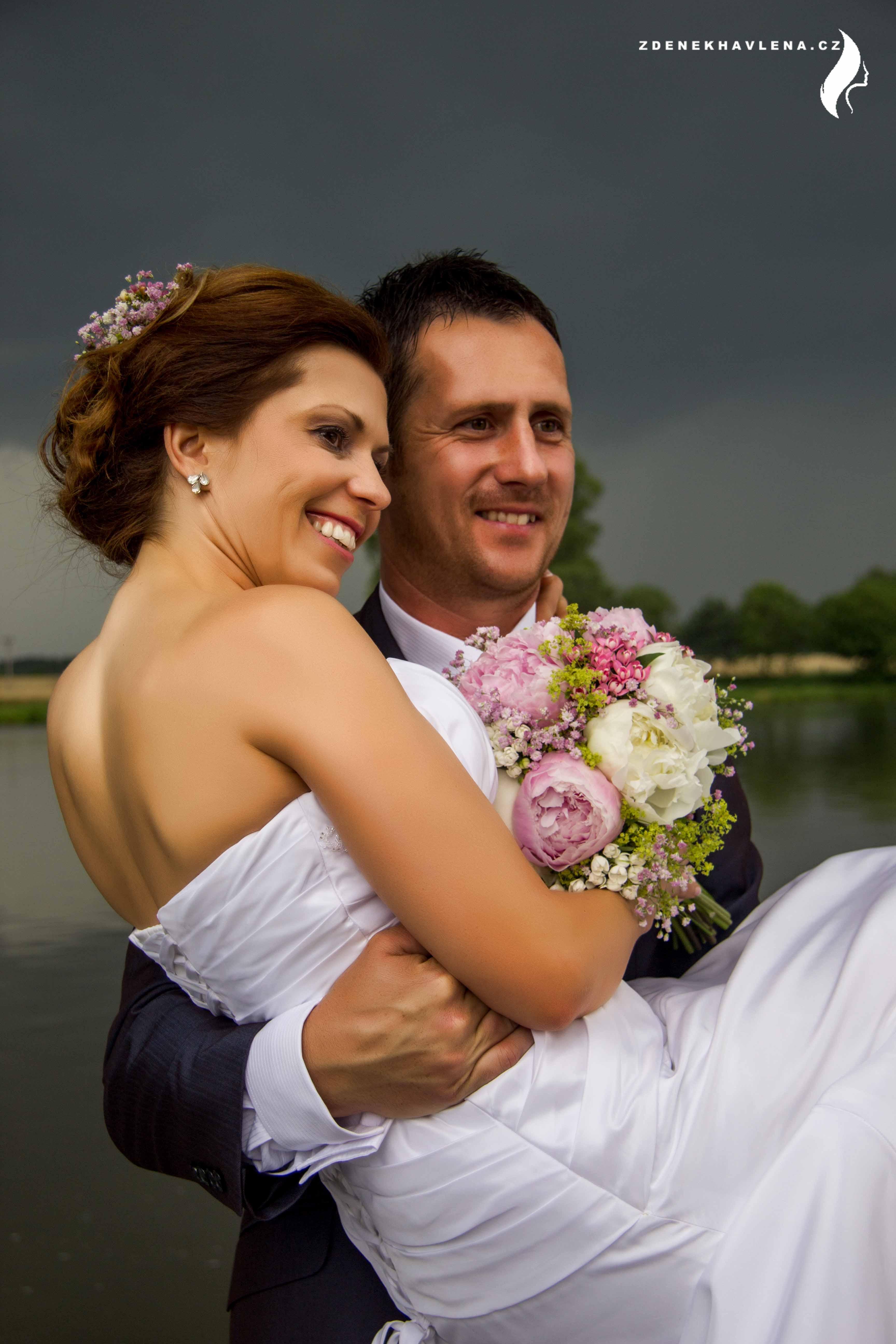 Blanka s manželem
